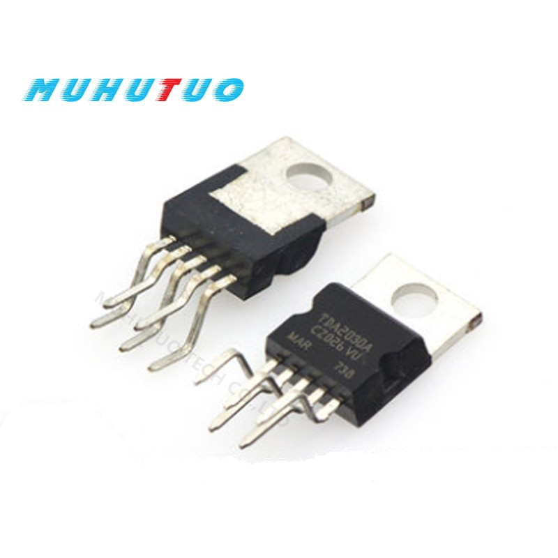 10pcs Original TDA2030 TDA2030A linear audio amplifier short-circuit and thermal protection IC