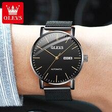 OLEVS Fashion Automatic Watch Men's Mechanical Watch For Men Watches 2021 Luxury Brand Mechanic Watc