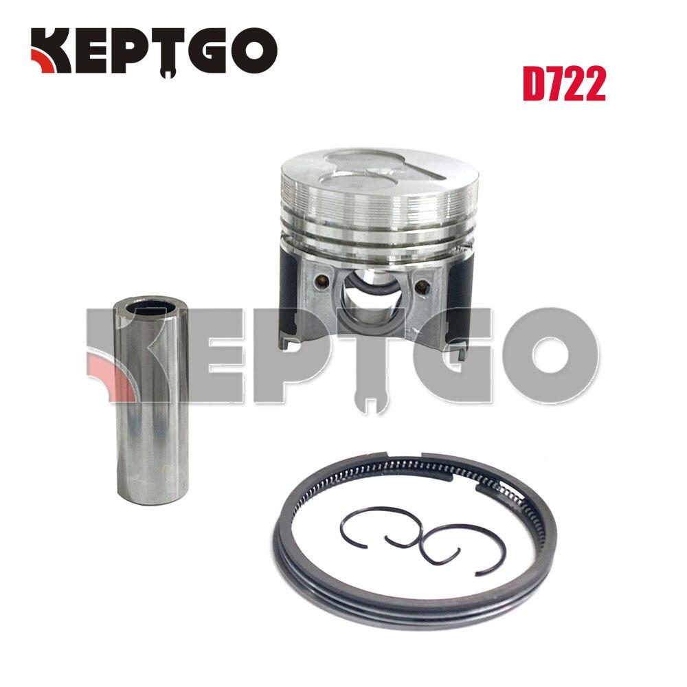 جديد D722 مجموعة حلقات المكبس لمحرك كوبوتا