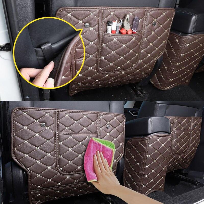 Assento traseiro do carro anti-kick almofada assentos traseiros capa traseira apoio de braço esteira de proteção para nissan qashqai j11 2016 2017 2018 acessórios do carro