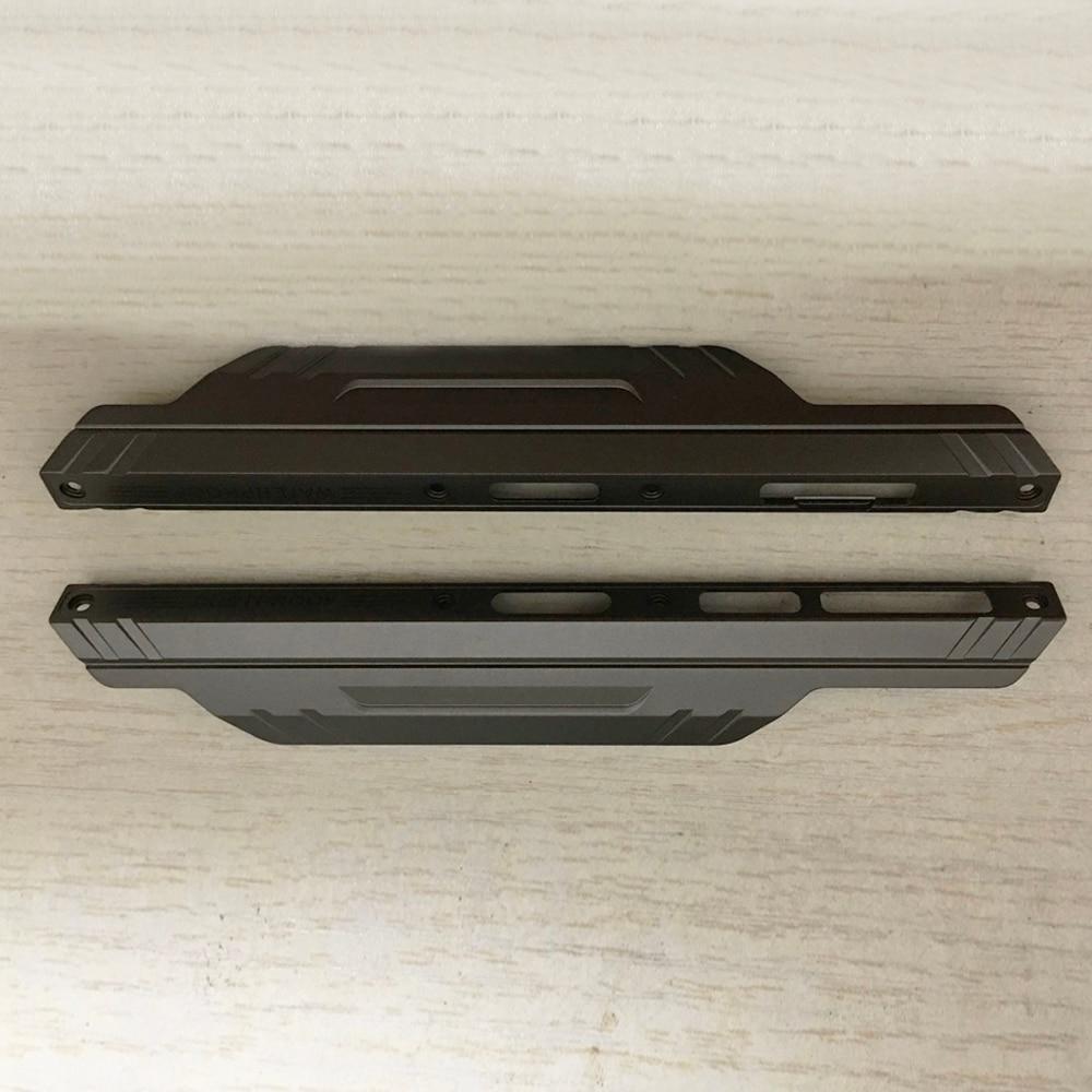ل DOOGEE S96 برو الجانب الوفير إطار معدني حافظة اليسار واليمين الديكور العلب الأمامية غطاء أجزاء منتصف الحافة الهيكل