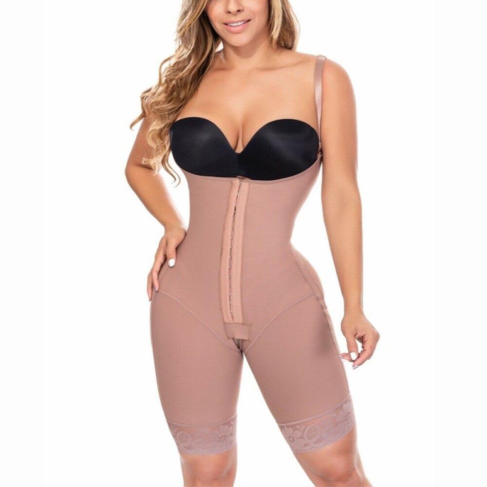 كامل محدد شكل الجسم الكولومبي المشدات واسط المدرب بعد جراحة النمذجة قطاع السيطرة ملابس داخلية التخسيس Fajas تشكيل بذلة