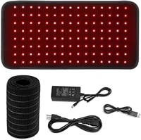 led red light and near infrared light therapy devices 660nm 850nm large pads wearable wrap for pain relief
