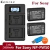 PALO – batterie rechargeable 2000mAh NP FW50 NPFW50 pour Sony Alpha a6500 a6300 a7 7R a7R a7RII a7II