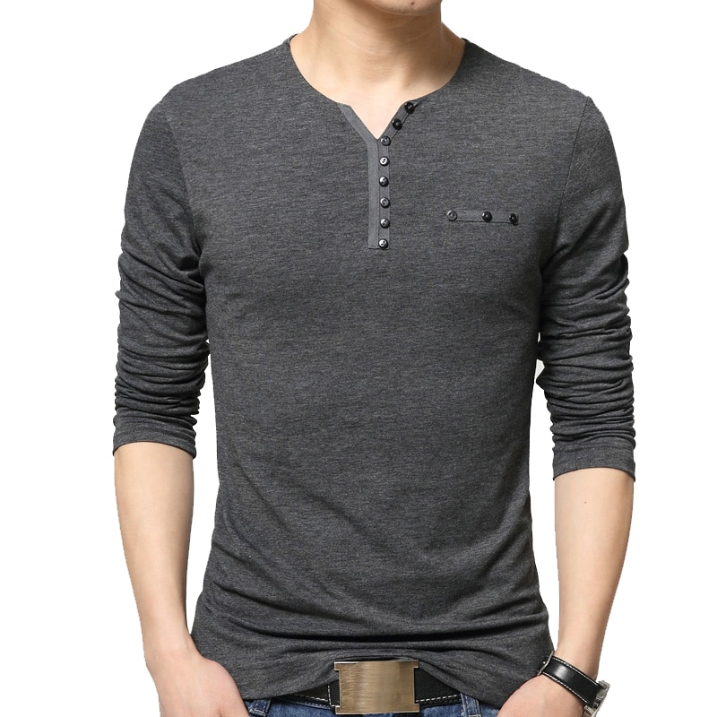 Camiseta a la moda de otoño para hombre, camiseta de gran tamaño,...