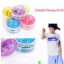 Yoyo truc Super YO YO allumer mécanisme dembrayage jouet vitesse balle LED jouets clignotants enfants cadeaux
