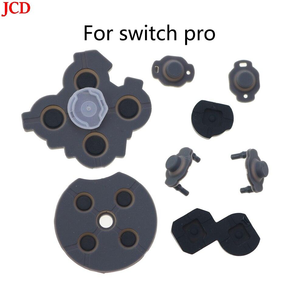 JCD 100 مجموعة Juego De Piezas دي إصلاح الفقرة Consola NS التبديل برو ، بوتون دي Llave LR ZL ZR ، كونترولادور ABXY لاصق التوصيل