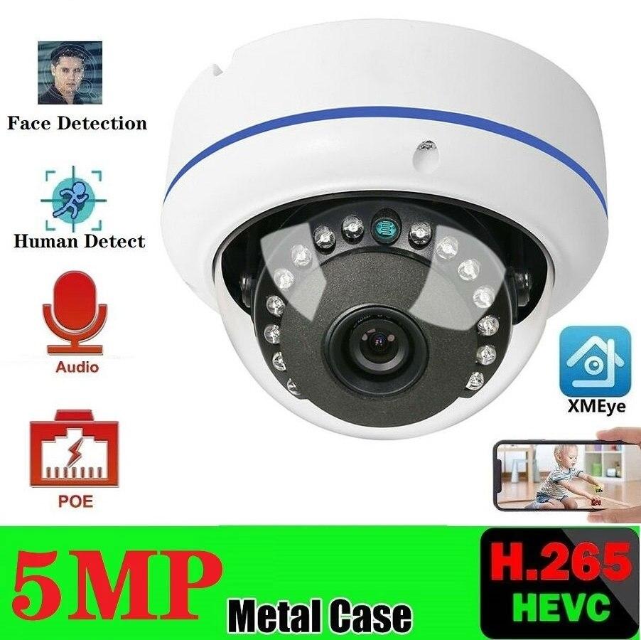 Купольная камера видеонаблюдения, 5 Мп, POE, 3 Мп
