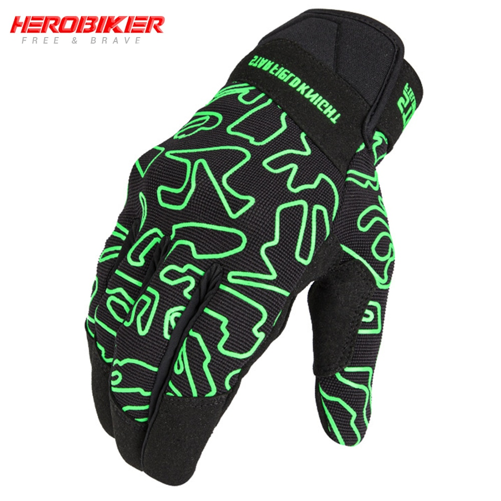 HEROBIKER Motorcycle Gloves Four Seasons Breathable Protective Full Finger Gloves Guantes Moto Motorcycle Accessories Moto Glove enlarge