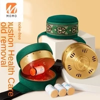 apparatus artifact smokeless moxibustion box carry on acupuncture household new moxibustion can fumigation device tools