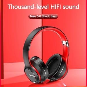 Image 3 - Lenovo HD200 Bluetooth беспроводные стерео наушники BT5.0 долгого ожидания жизни с закрывающие шум для мобильных телефонов Lenovo гарнитура