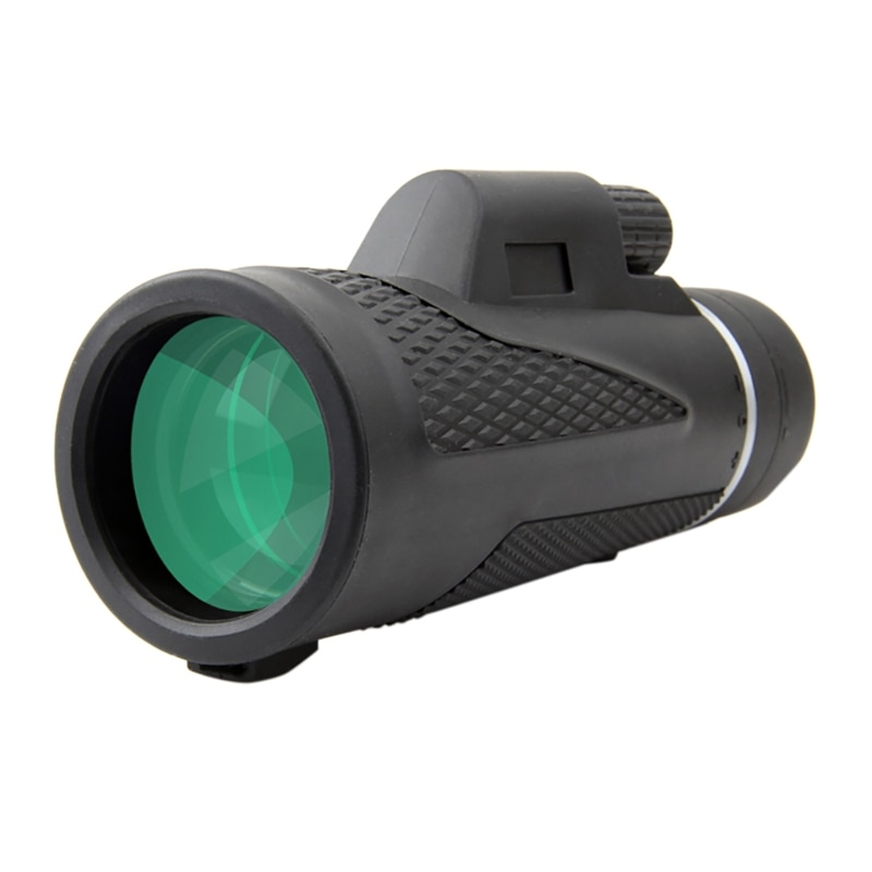 12X50 Powerful Monoculars Binoculars Zoom Field Glasses Great Handheld Telescope with Phone Clip for