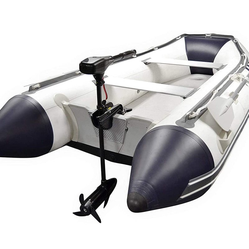 144W 18lbs Inflatable Boat Electric Motor Speed Kayak Small Fishing Canoe Dinghy Raft DC Battery Eletric Motor Boat Engines