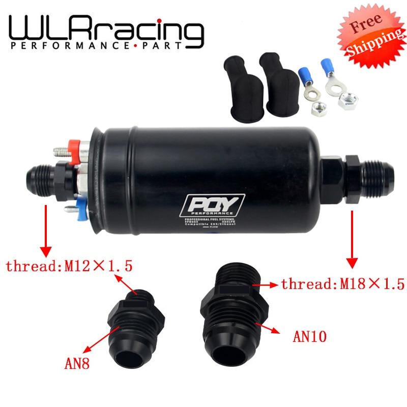 Бесплатная доставка EFI 380LPH 1000HP Высокое качество внешний топливный насос E85 совместимый 044 стиль новый WLR-FPB003-QY