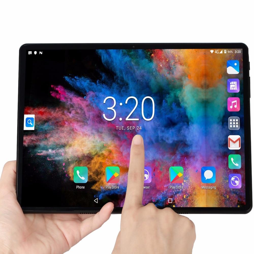 Bdf tablet 10 Polegada pc quad core 3g, telefone tablet 1gb ram 32gb rom 1280*800 tela fhd dual câmeras android 7.0 comprimidos 10.1 9 8 7