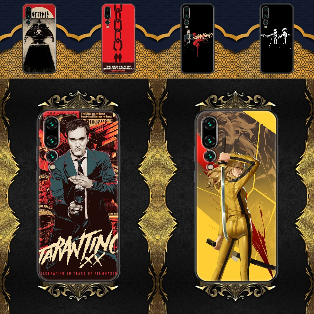 written-directed-quentin-tarantino-phone-case-for-huawei-p-mate-p10-p20-p30-p40-10-20-smart-z-pro-lite-2019-black-painting-etui