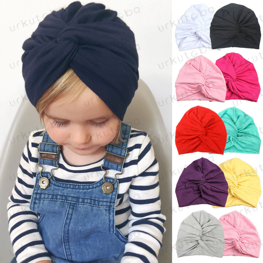 new winter baby boys girls turban hats knotted beanies caps indian children baby hat infant gift accessories Newborn Baby Girls Boys Turban Infant Baby Toddler Head Wrap Soft Hats Children Kids Hat Clothes