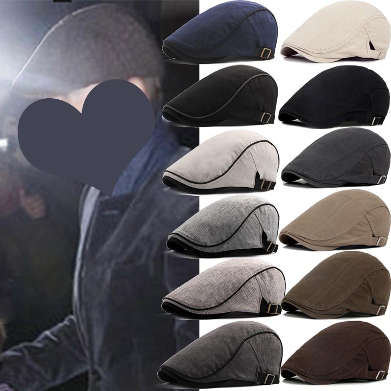 Мужские береты, уличная кепка газетчика, сезон весна-осень-зима, британский берет в стиле ретро, мужские кепки с козырьком художника, кепки в...