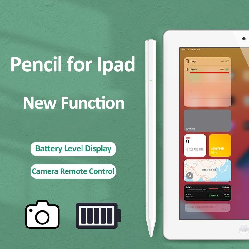 Карандаш Uogic для iPad, стилус для Камеры Apple Pencil 2 1 iPad Pro 11 12,9 Mini 6 7 Air 3 4