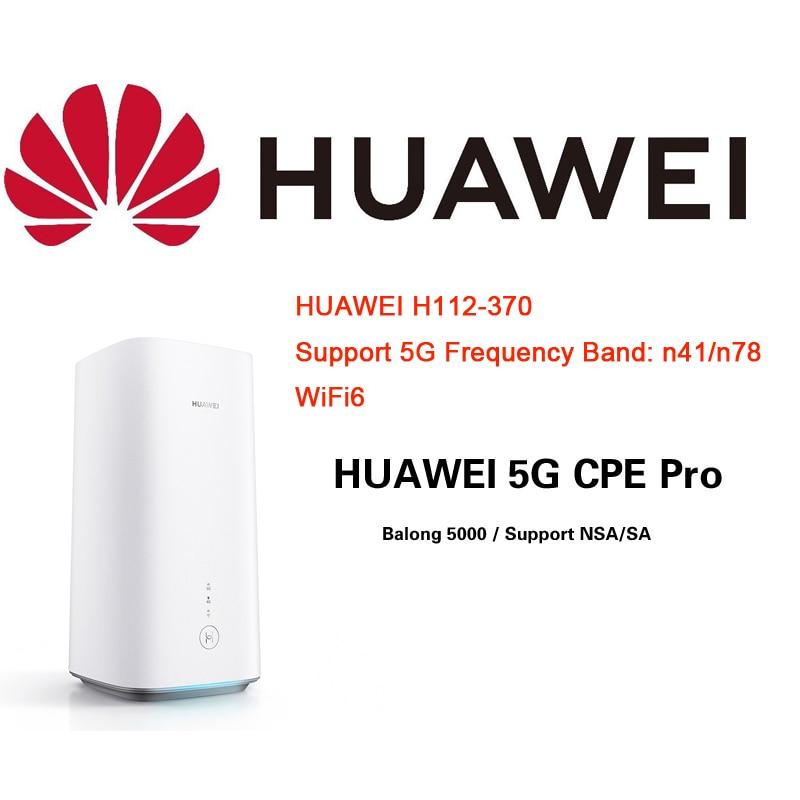 Unlocked HUAWEI 5G CPE Pro International H112-370 with Sim Card WIFI6