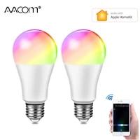 Apple Homekit     Ampoule LED intelligente WiFi E27  15W  lampe intelligente  applique a Apple IOS Google Home echo dot