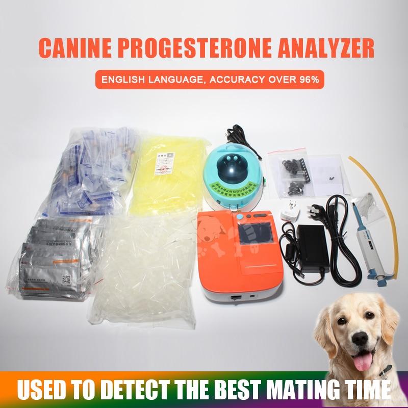 Dog Progesterone Analyzer Portable Dog Progesterone Tester Canine Progesterone Testing Machine Veterinary Equipment