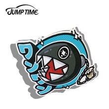 الانتقال الوقت 13 سنتيمتر x 12.9 سنتيمتر ملصقات السيارات سلسلة Chomp اليابانية لصائق مضحك سيارة التصميم ملصق مقاوم للماء السيارات السيارات ديكور الرسومات