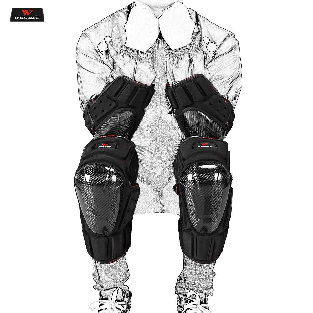 scoyco k17h17 motorcycle elbow pad protective gear motorcycle protector gear outdoor guards motorcycle protective kneepad WOSAWE Motorcycle Knee Pads Motocross Knee Protector Elbow Guard MTB Ski Protective Gear Kneepad Moto Knee Protective Gear