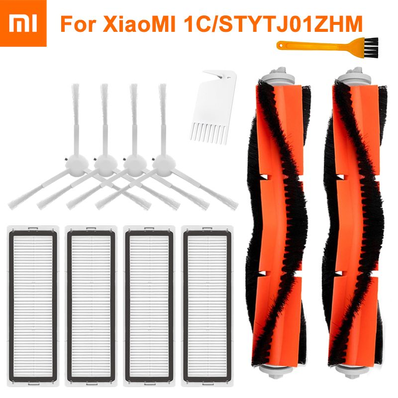 Main Brush HEPA Filters Mop Cloth Replacement Kits for Xiaomi Mijia 1C STYTJ01ZHM Robot Vacuum Cleaner Parts Accessories