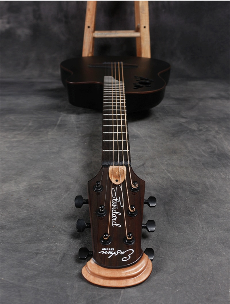 41 inch New Folk Electric Box Guitar Solid Spruce Grape Hole 6  Strings Acoustic Guitar High Quality Carbon Fiber Guitar AGT235 enlarge