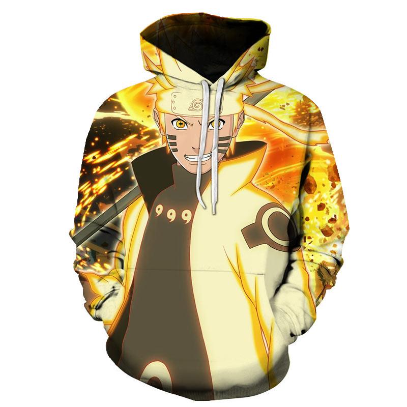 3D Japanese Anime Hoodies Men and Women 3D Printed Anime Hoodie Kids Cosplay Sweatshirt Boy Anime Pu