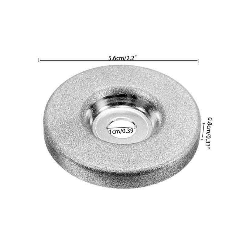 56mm 320 Grit Diamond Grinding Wheel Grinder Sharpener Cutting Wheel