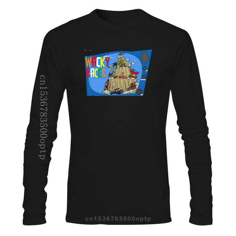 Camiseta RETRO de cracky Race para hombres y mujeres, camisa de dibujos...