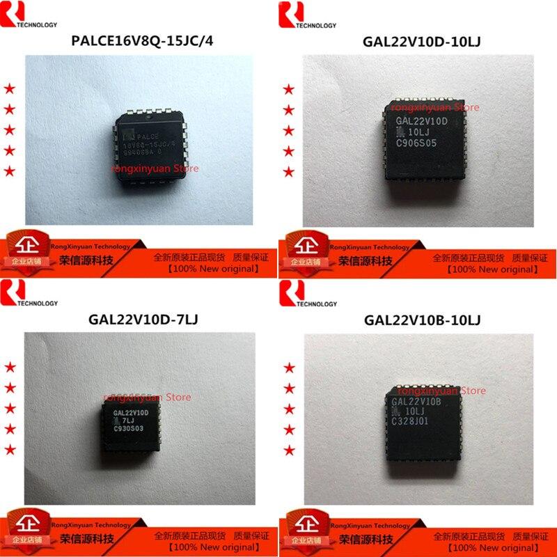 1 pcs PALCE16V8Q-15JC/4 PALCE16V8Q-15JC PALCE16V8Q GAL22V10D-10LJ GAL22V10D GAL22V10D-7LJ GAL22V10B-10LJ GAL22V10B original Novo
