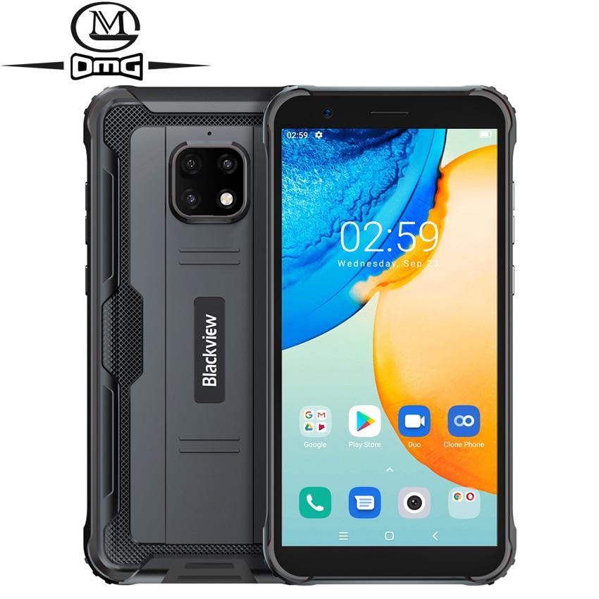 Перейти на Алиэкспресс и купить Ударопрочный смартфон Blackview BV4900 Pro, NFC, IP68, 5,7 дюйма, 4 + 64 ГБ, Android 10, 5580 мА · ч
