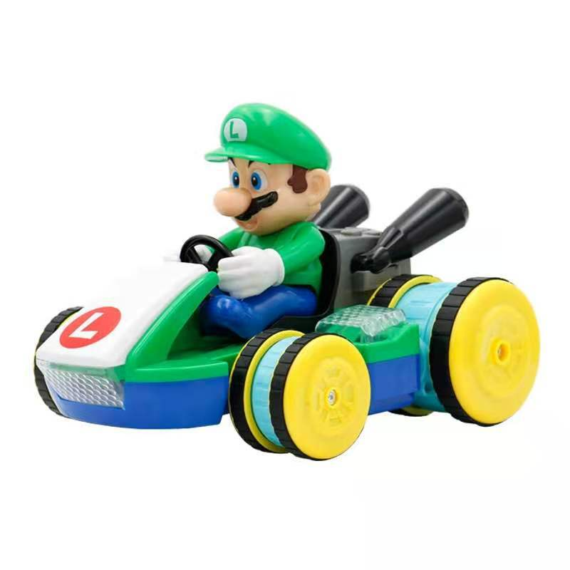 New Mario remote control car gesture induction music light high speed stunt remote control kart model children's toy gift enlarge