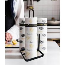 Creative Thuis Keuken Houten Metal Iron Servet Plank Papierrol Stand voor Keuken Huishouden Woonkamer Accessoires