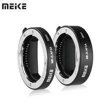 Meike MK-S-AF3A métal Auto Focus Macro rallonge Tube 10mm 16mm pour Sony sans miroir a6300 a6000 a7 a7SII NEX e-mount caméra
