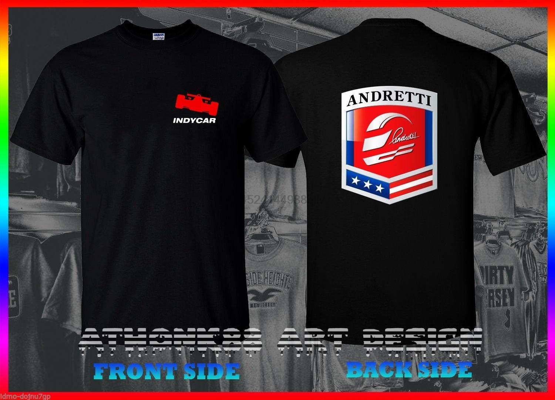 Серия Andretti Autosport Racing Indycar Team футболка серия Indycar Футболка мужская футболка