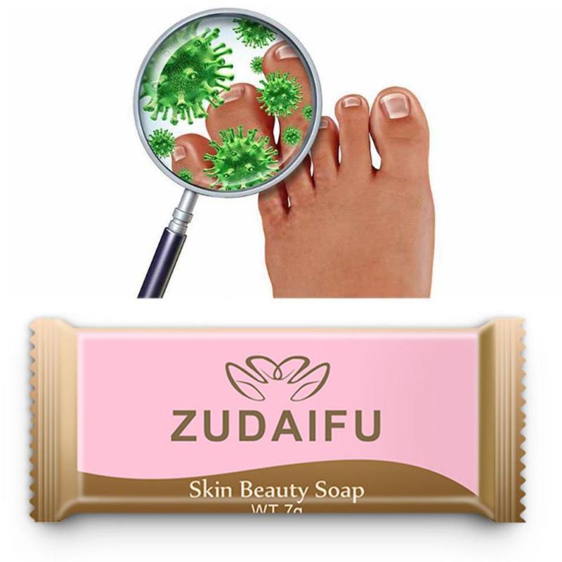 Zudaifu jabón de azufre para tratamiento de la piel acné, Psoriasis, seborrea, Eczema, Anti hongos, jabón de belleza para el baño, herramientas de cuidado de la piel TSLM1, 7g