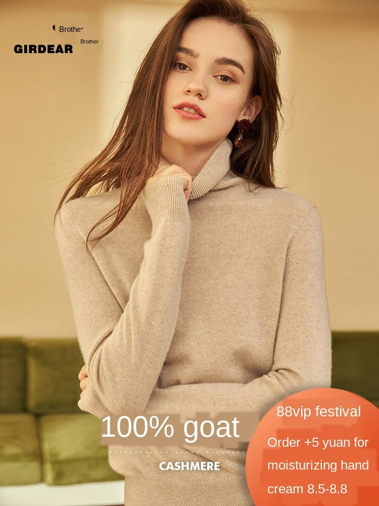 23/5000  All Cashmere 2020 New pure cashmere Sweater Sweater for women knitwear with bottom