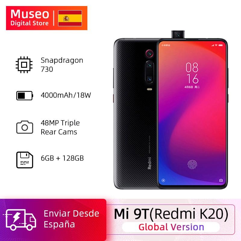 Global Version Xiaomi Mi 9T 9 T Redmi K20 6GB 128GB Snapdragon 730 Octa Core 6.39 Inch AMOLED 48MP Cameras 4000mAh NFC