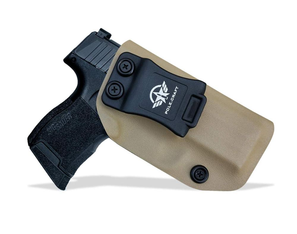 PoLe.Craft KYDEX IWB الحافظة P365 Sig saler 365 ، حقيبة حمل مخفية ، P365