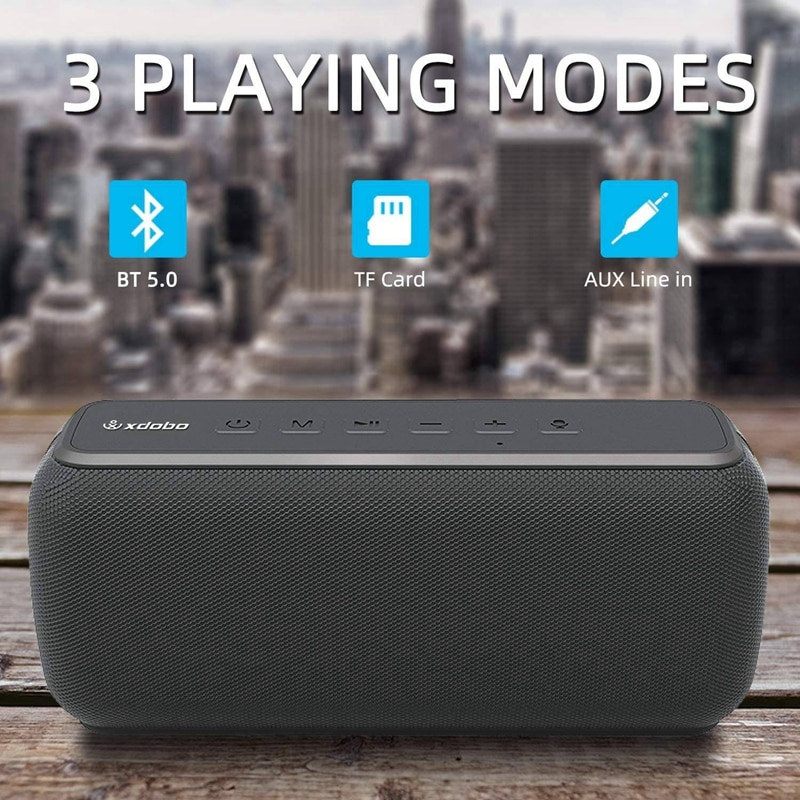 XDOBO X8 60W Portable Bluetooth Speakers Bass Stereo Subwoofer Wireless Column TWS 15h Playing Time Voice Assistant Sound Bar enlarge
