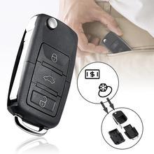 Porte-clés étanche Anti-vol   Boîte de rangement creuse en forme de clé de voiture, boîte de rangement sécurisée, conteneur pour clés