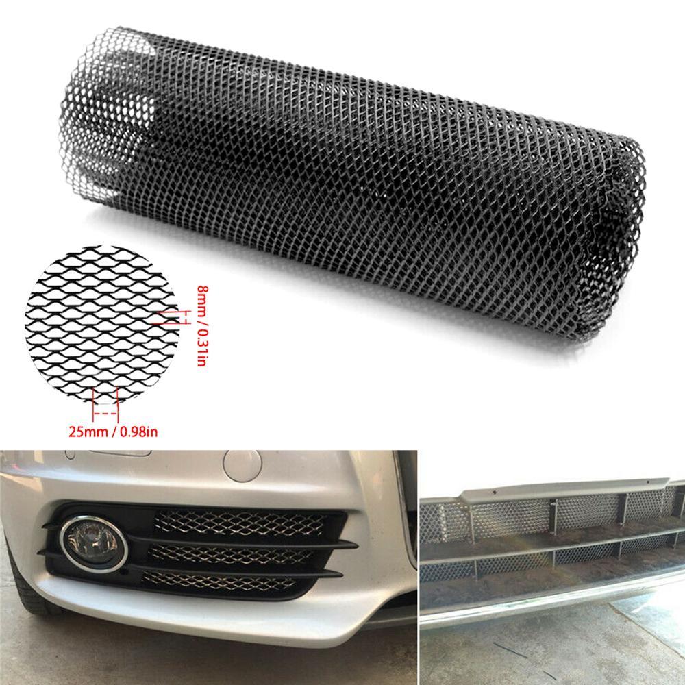 Cubierta Hexagonal de rejilla de aluminio para parachoques de coche