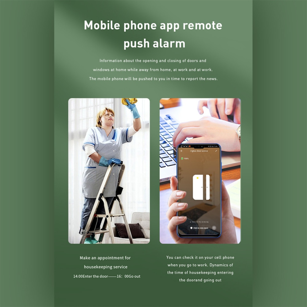 1 Set Professional Home Detector Alarm Useful Remote Controlling Motion Sensor enlarge