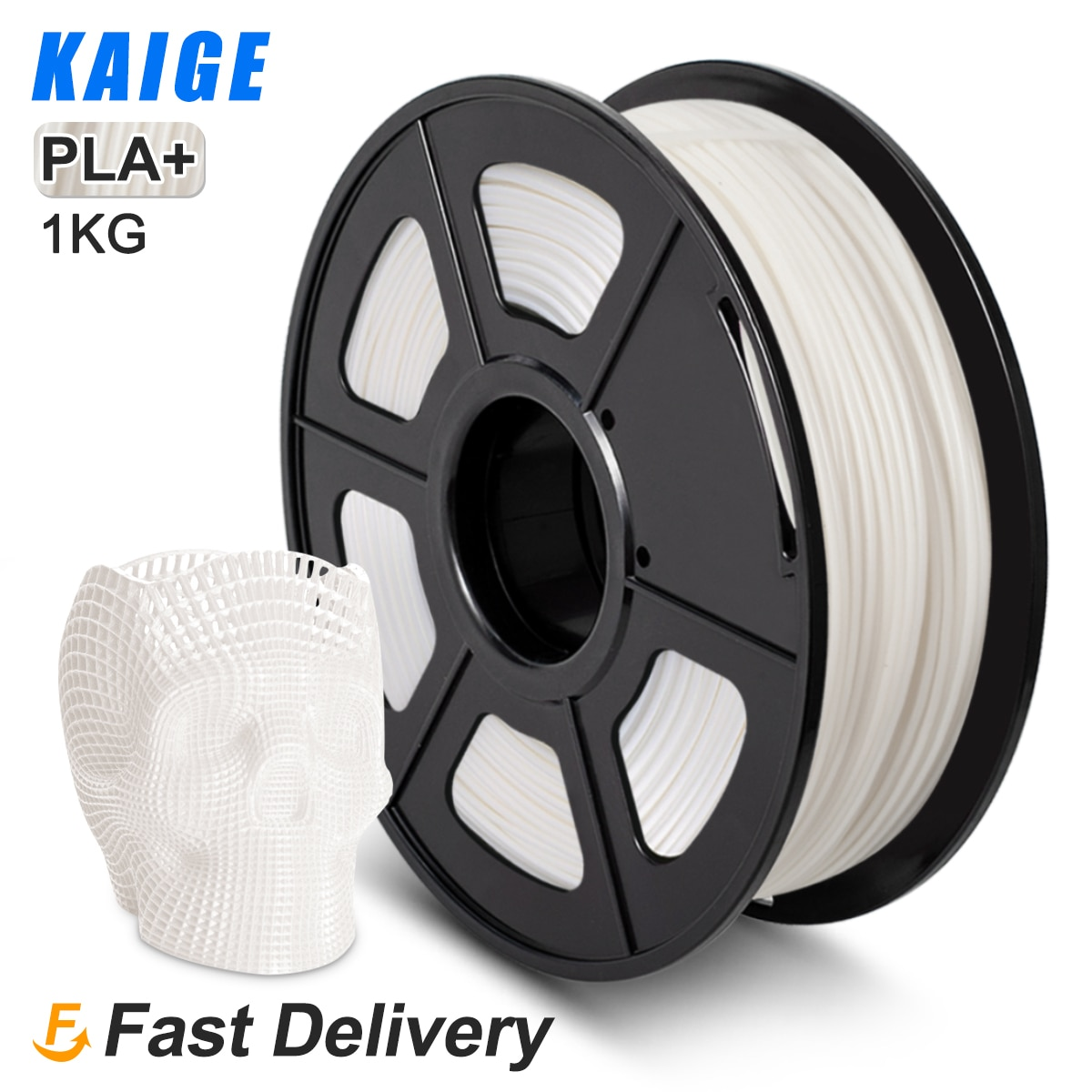 KAIGE PLA PLUS 1,75mm 1kg +/-0,02mm de alta resistencia de Color no...
