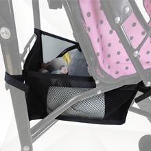 New Style Baby Stroller Basket Organizer Storage Bag Portable Pram Newborn Baby Care Stroller Basket