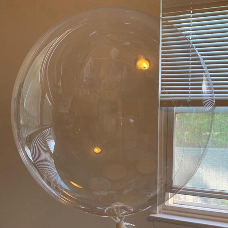 товары для праздника поиск воздушные шары свадебная тематика 50 шт Прозрачные гелиевые воздушные шары, надувные светящиеся воздушные шары Bobo, украшения для свадьбы, дня рождения, детского праздника, 5 шт., 18, ...